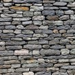 Stock Photo: Wall built of natural stone.