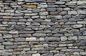 Wall built of natural stone. — Stock Photo