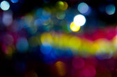 Coloured bokeh background — Stock Photo