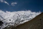 Montañas de nieve — Foto de Stock