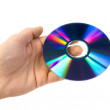 CD ROM on the palm. — Photo