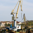 Harbour crane. — Stock Photo
