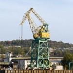 Harbour crane. — Stock Photo
