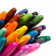 Multicoloured soft-tip pen. — Stock Photo
