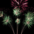 Outbreaks fireworks — Stock Photo