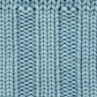 Blue knitted fabric texture — Stock Photo #1782983