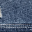 Denim textured background — Stock Photo