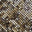 Golden fabric texture — Stock Photo