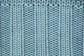 Blue knitted fabric texture — Стоковое фото