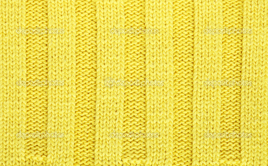 Yellow Cloth Texture Yellow knitted fabric textured
