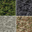 Royalty-Free Stock : Digital camouflage patterns