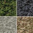 Royalty-Free Stock Imagen vectorial: Digital camouflage patterns