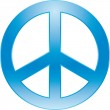 Stockvektor : Peace symbol