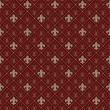 Fleur de lis seamless pattern — Stockvectorbeeld