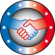Royalty-Free Stock Imagen vectorial: Handshake