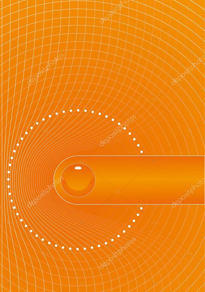 Title Pages Design Orange Title Page Design