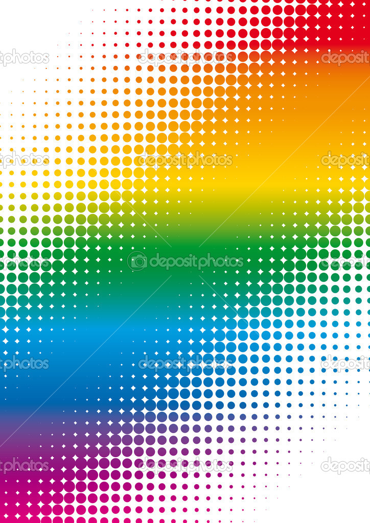 Rainbow cover — Stock Vector #1638018