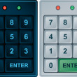 Royalty-Free Stock Vector Image: Keypad Entry