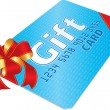 Gift Card — Stockvektor