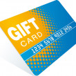 giftscard — Stockvektor  #1689540