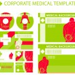 Royalty-Free Stock Vector Image: Corporate medical presentation