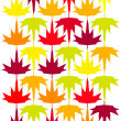 Seamless vector autumn — Stock Vector