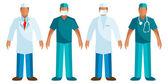 Medical staff - Vector Surgeon — Stock Vector