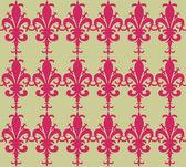 Fleur-de-lys color background — Stock Vector