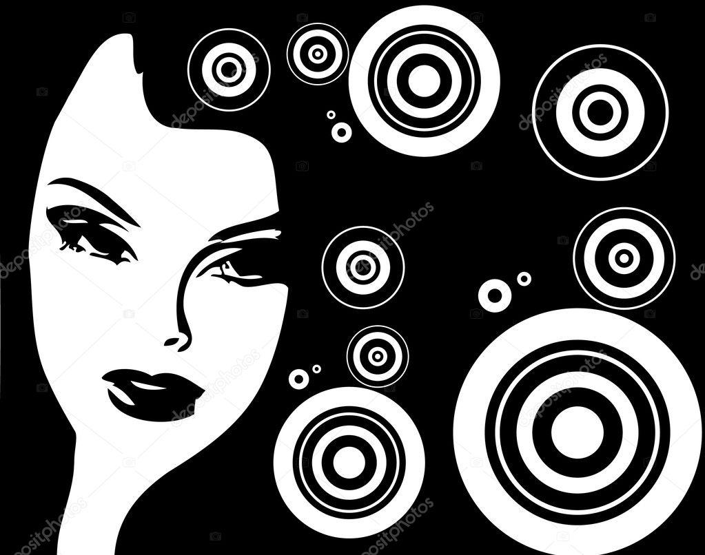 depositphotos 1669068 Vintage vector poster with woman Latina Hardcore Sex 3