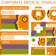 Постер, плакат: Template of medical business