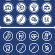 Medicine and Health vector icons — Stock Photo #1896684