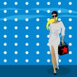 Fashion woman background — Stock Photo #1897059