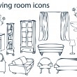 Home, furniture, living rooms — Stok Fotoğraf #1897097