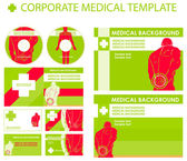 Corporate medical presentation — Stock Photo