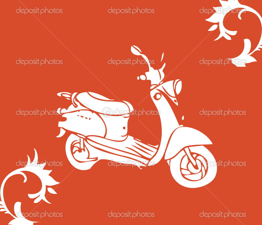 Vector moto bike  Stock Photo #1896555