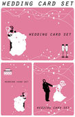 Wedding card, love, — Stock Photo