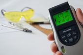Laser measure. — Stock Photo