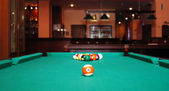 Pool table — Stock Photo