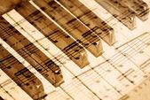 Old music sheet. — Stock Photo