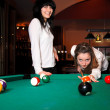 Pool players — Stock Photo