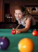 Pool player — Stock Photo