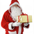 Royalty-Free Stock Photo: Santa Claus with gift