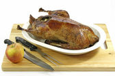 Roasted goose — Stock Photo