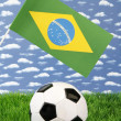 Brazilian soccer — Stock Photo