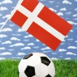 Royalty-Free Stock Photo: Danish soccer