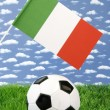 Italian soccer — Stock Photo