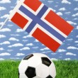 Norwegian soccer — Stock Photo
