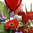 Flowers for valentines day — Stock Photo #1647635