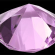 Pink diamond - Stock Photo