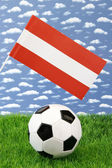 Austrian soccer — Stock Photo